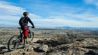 Mountain Biking Ike's Peak and 3 Mile Smile in...