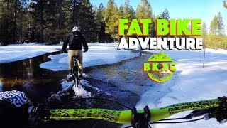 Fat Biking in Shingletown, California, with...