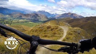Mountain Biking on Coronet Peak near...