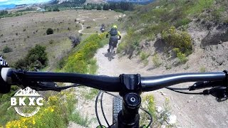 Mountain Biking Near Wanaka, New Zealand, with...