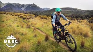 Mountain Biking Craigieburn, New Zealand, with...