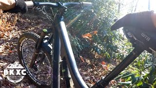 Mountain Biking the Black Mountain trail in...