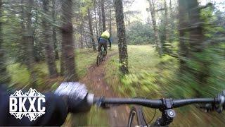Mountain Biking near Benasque, Spain, with...