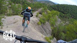 Mountain Biking near Oncins, Spain, with BasqueMTB