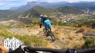 Mountain Biking near Boltaña, Spain, with...