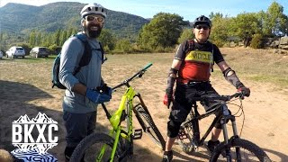 Mountain Biking near Nocito, Spain, with BasqueMTB