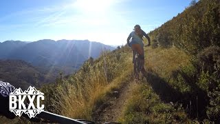 Mountain Biking near Arguis, Spain, with BasqueMTB