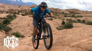 Mountain Biking Slickrock in Moab, Utah