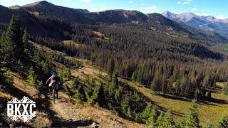 Mountain Biking Fooses Creek on the Monarch...