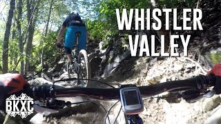 Mountain biking in the Whistler Valley