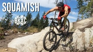 Mountain Biking in Squamish, British Columbia