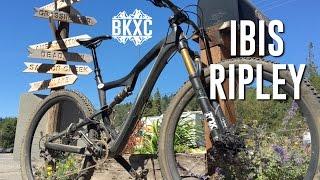 2016 Ibis Ripley XT Werx MTB Test Ride