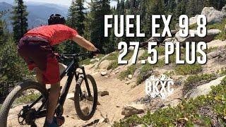2017 Trek Fuel EX 9.8 27.5 Plus MTB Test Ride