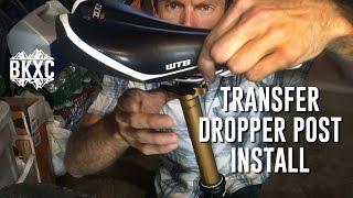 Fox Transfer Dropper Post Install