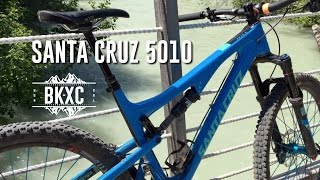 2016 Santa Cruz 5010 C S MTB Test Ride