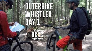 Outerbike Whistler 2016 - Day 1