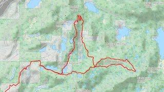 Using Strava and Gaia GPS to map mountain bike...
