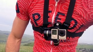 Mountain biking with the Feiyu Tech Wearable...
