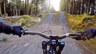 RIDING MY NEW DOWNHILL MTB!!!