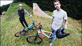 THESE MTB JUMPS ARE INSANE!
