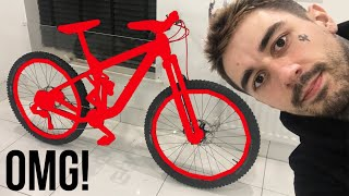 MY DOWNHILL MTB REVEAL?!