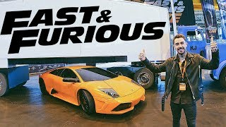 I'M IN FAST AND FURIOUS?! *BEHIND THE SCENES*