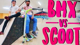 BMXERS PLAY SCOOT!