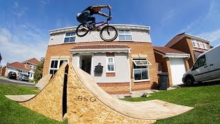 MY NEW BMX RAMP!