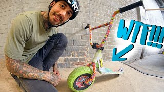 SCOOTER VS MINI BMX!