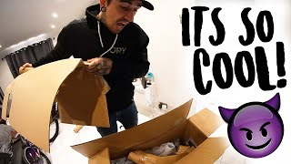 UNBOXING MY CRAZY NEW EXERCISE BIKE!