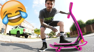 THE SKATEBOARD SCOOTER!