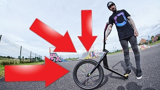 THIS SCOOTER BMX WILL KILL ME!