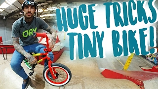 INSANE TRICKS ON THE CRAZIEST LITTLE BMX BIKE!
