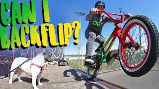 RIDING THE CRAZIEST LITTLE BMX BIKE EVER!