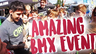 CRAZY BMX EVENT | SUCH AN AMAZING SURPRISE!