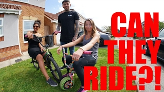 HOT GIRLS RIDE BMX!