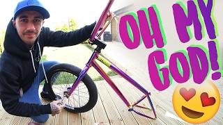 BUILDING MY DREAM BMX BIKE!