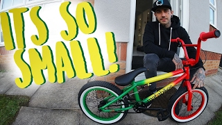 THIS THING IS CRAZY | UNBOXING MY NEW BMX BIKE!