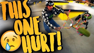 IT WAS SUCH A BAD IDEA | MINI BMX SKATEPARK...