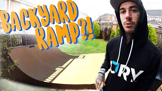 BUILDING MY DREAM BACKYARD BMX RAMP?!