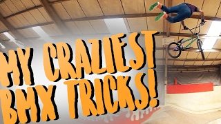 CRAZIEST BMX TRICKS 2017!