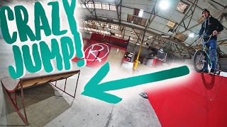 BMX BUNNY HOP SKATEPARK TRICKS!