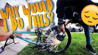 DANGEROUS BIKE FAIL! | I HAD A BAD DAY