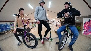 BMX SCOOTER SESSION
