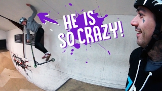 INSANE CRAZY SCOOTER KID!!