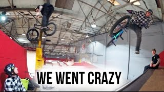 THIS WASN'T SUPPOSED TO HAPPEN! (CRAZY BMX...
