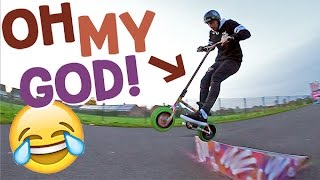 THE MINI BMX SCOOTER?!