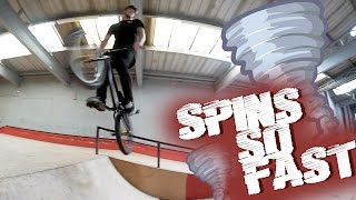 CRAZY SPINS FOR BREAKFAST!