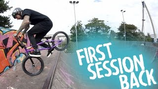FINALLY RIDING BMX AGAIN!