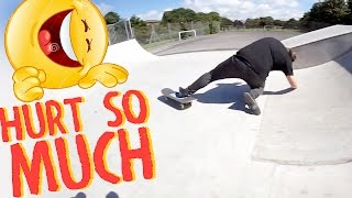 HORRIBLE SKATEBOARD CRASH!